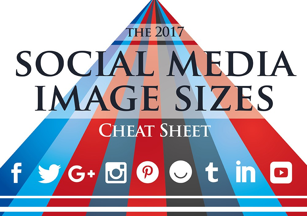 Social Media Image Size Guide for 2017 [Infographic]