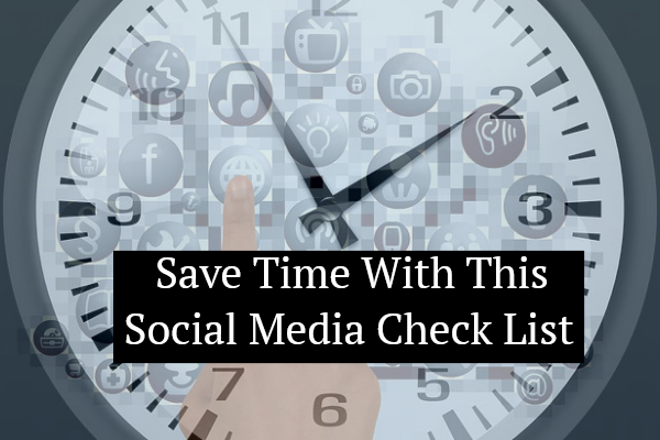 Social Media Management Check-List [Infographics]